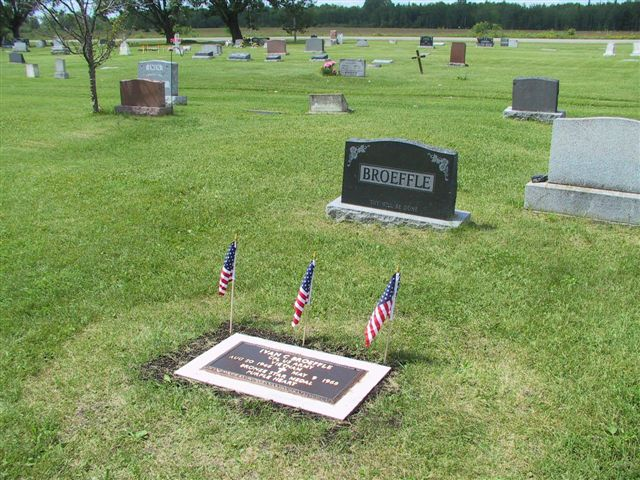 Headstone and Marker