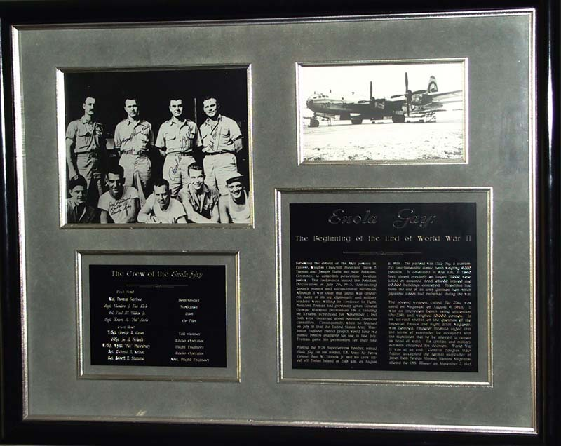 Enola Gay Historical Display