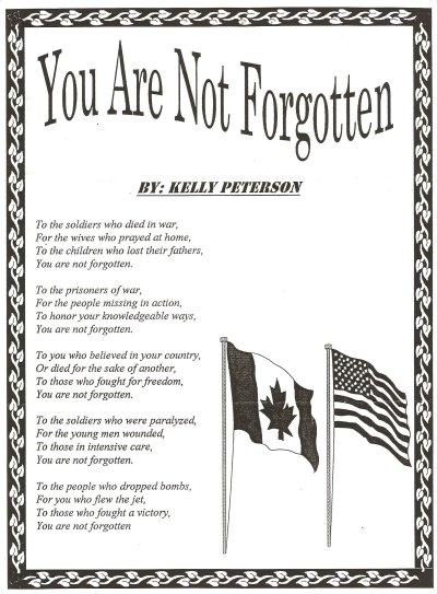 The North Wall - Canadian Vietnam Veterans Memorial - Windsor ...